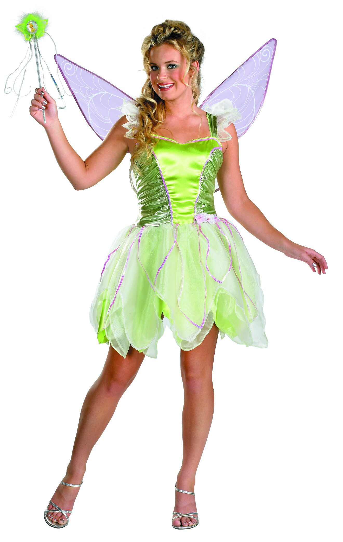 disney tinkerbell deluxe adult costume mr costumes. Black Bedroom Furniture Sets. Home Design Ideas