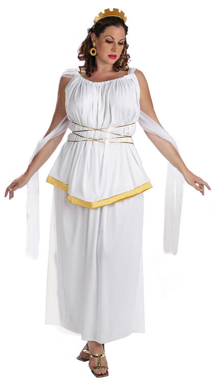 Athena Plus Size Greek Goddess Costume - Mr. Costumes