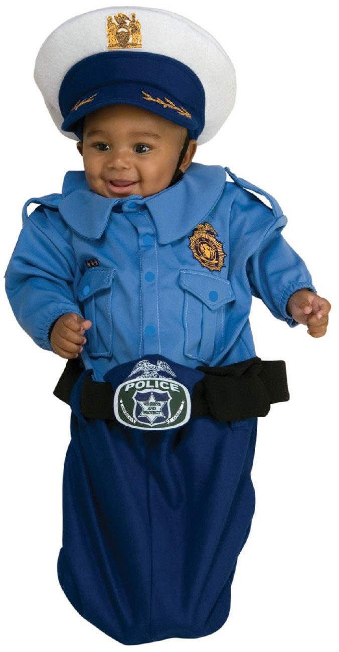Police officer bunting baby costume mr costumes - Police officer child costume ...