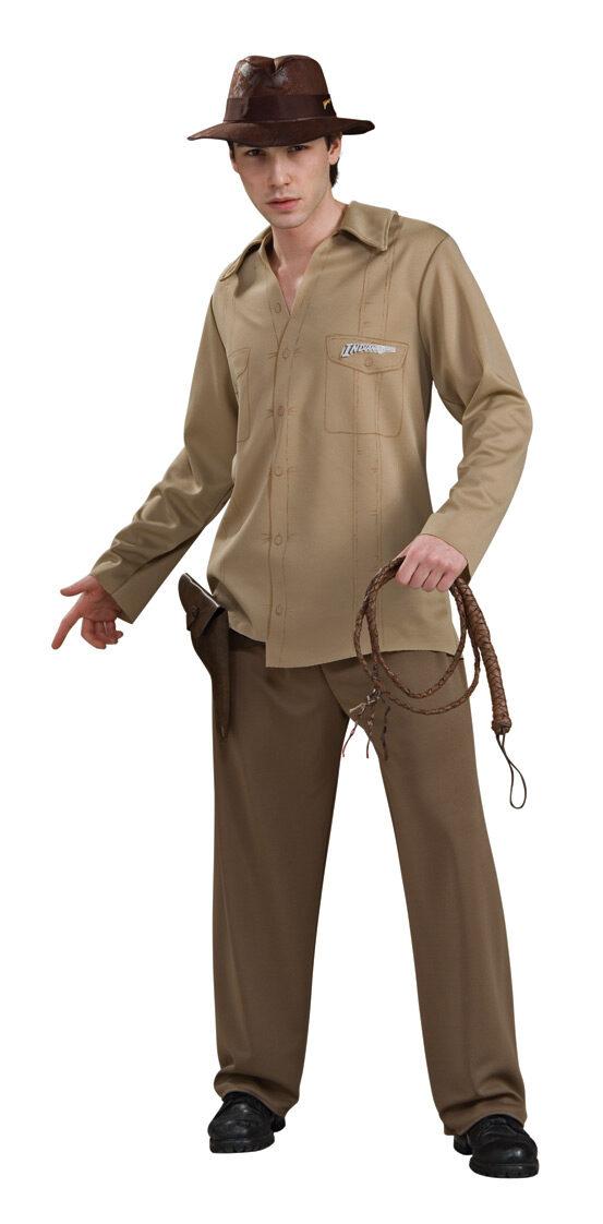 Indiana Jones Adult Costume - Mr. Costumes
