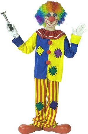 Kids Big Top Boys Clown Costume