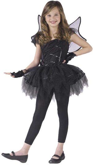 Kids Baterina Dark Fairy Costume