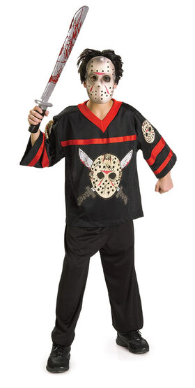 Friday the 13th Hockey Jersey Kids Costume