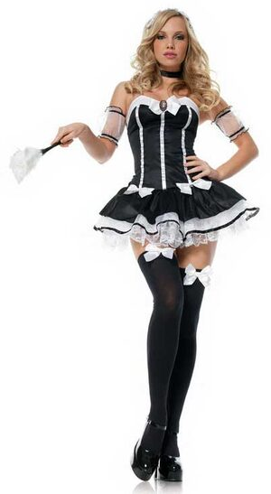 Charming Chambermaid Sexy French Maid Costume
