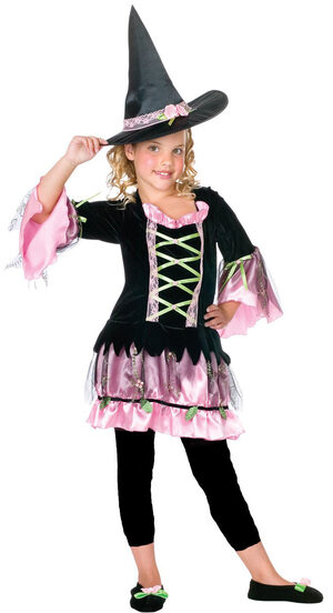 Kids Blossom Witch Costume