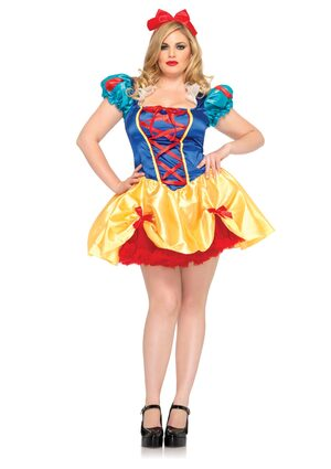 Fairy Tale Snow White Plus Size Costume