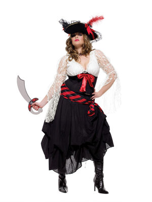 Gold Doubloon Plus Size Pirate Costume