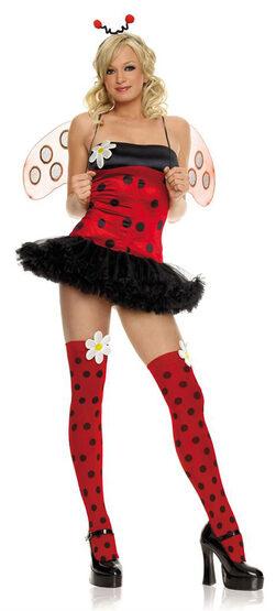 Sexy Daisy Bug Ladybug Costume