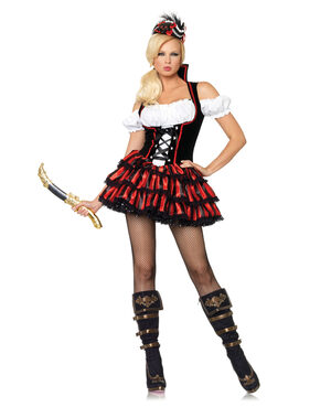 Shipwreck Sexy Pirate Costume