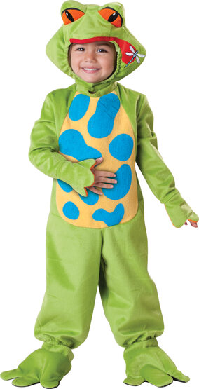 Green Lil Froggy Boys Baby Costume