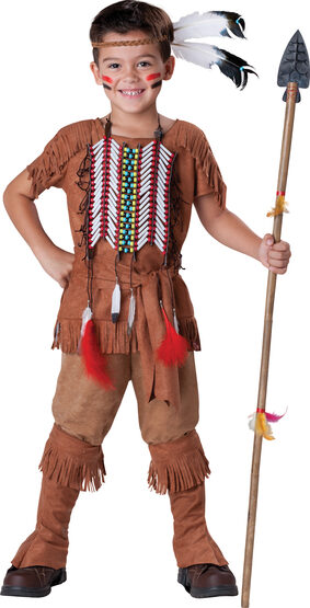 Elite Boys Indian Brave Kids Costume
