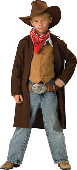 Boys Rawhide Renegade Cowboy Kids Costume