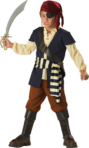 Boys Pirate Mate Kids Costume