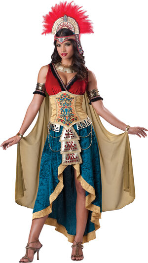 Sexy Womens Elite Mayan Queen Costume