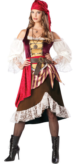 Sexy Deckhand Darlin Pirate Costume