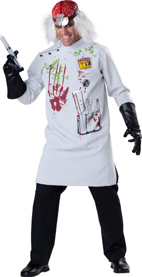 Mens Mad Scientist Adult Costume