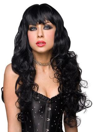 Missy Black Curly Wig