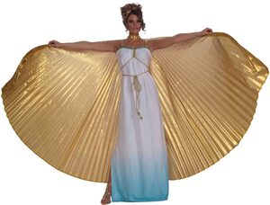Gold Theatrical Gothic Wings