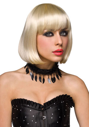 Cici Blonde Layered Bob Wig