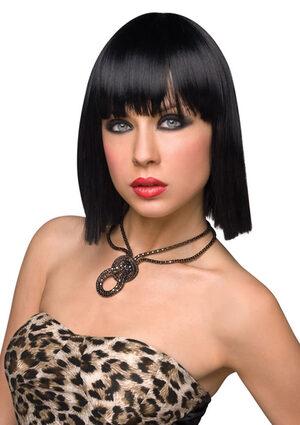 Katie Black Gothic Wig