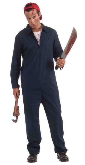 Deranged Mechanic Scary Mens Adult Costume