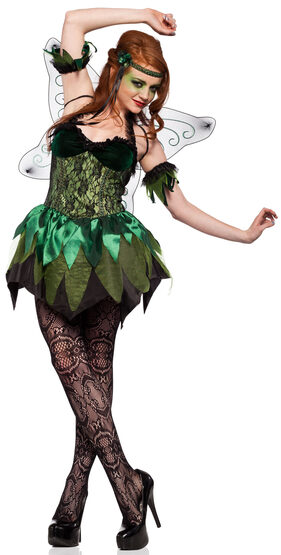 Sexy Green Absinthe Fairy Gothic Costume