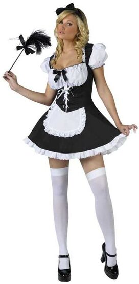 Maid to Order Sexy French Maid Costume