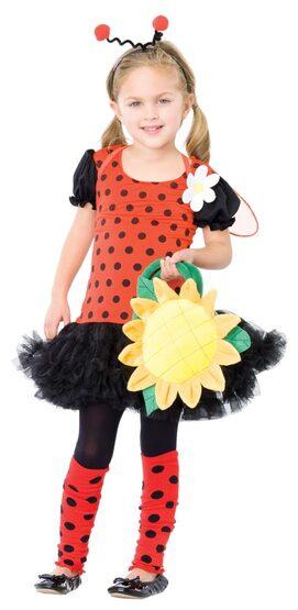Kids Spring Bug Ladybug Costume