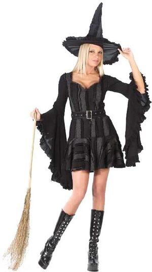 Womens Stitch Witch Sexy Costume