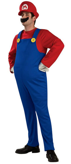 Adult Deluxe Super Mario Costume