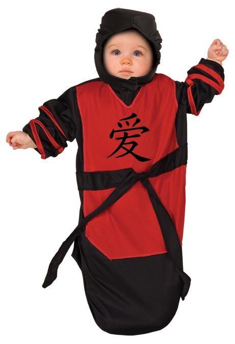 Baby Bunting Infant Ninja Costume  sc 1 st  Mr. Costumes & Baby Bunting Infant Ninja Costume - Mr. Costumes