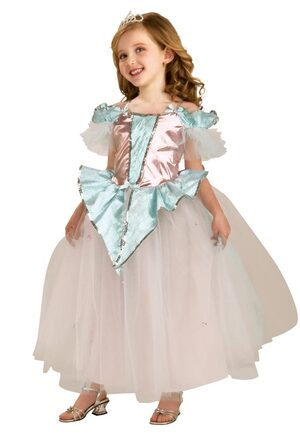 Girls Cotton Candy Princess Costume