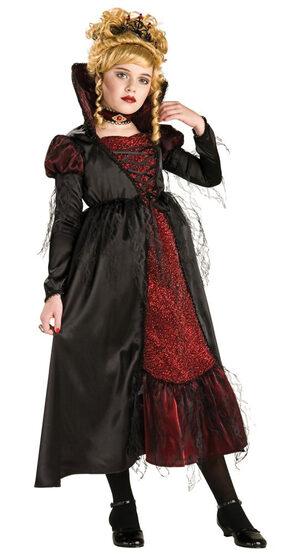 Kids Transylvanian Gothic Vampiress Costume