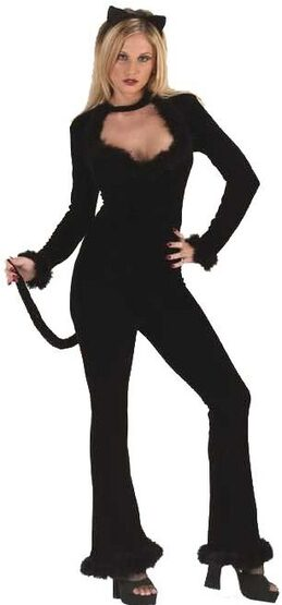 Womens Feline Sexy Cat Costume