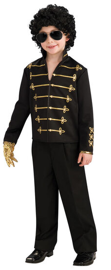 Kids Michael Jackson Bad Costume