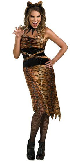 Sexy Tigress Cat Costume