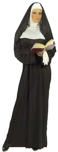 Womens Mother Superior Adult Nun Costume