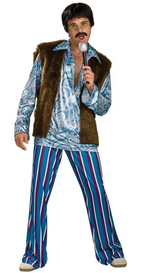 Adult 60s Rockstar Guy Mens Costume