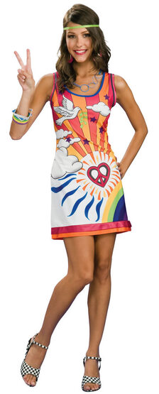 Sunshine Dreamer Sexy 60s Costume