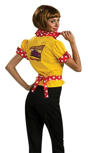 Adult Hot Rod Honey 50s Costume