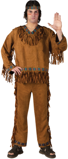 Mens Adult Indian Costume