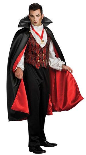 Mens Transylvanian Adult Vampire Costume
