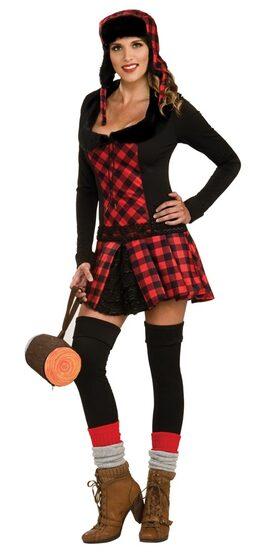 Womens Lumber Jill Sexy Costume