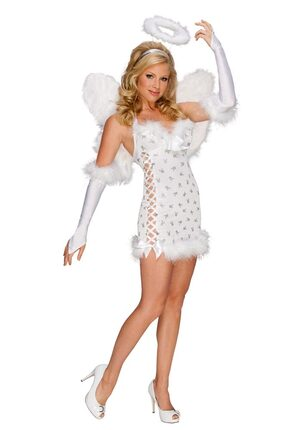 Playboy Sexy Angel Costume