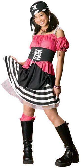 Girls Sweet Pirate Costume  sc 1 st  Mr. Costumes & Girls Sweet Pirate Costume - Mr. Costumes