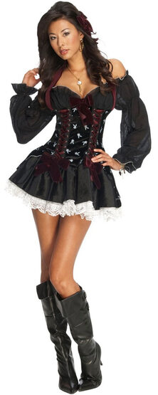 Playboy Swashbuckler Sexy Pirate Costume