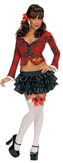 Playboy Prep Sexy School Girl Costume