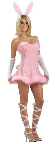 Sexy Pink Honey Bunny Costume