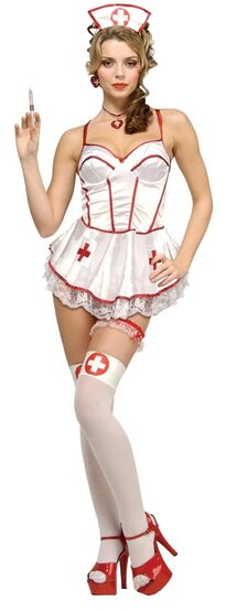 Sponge Bath Sexy Nurse Costume