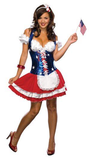Firecracker Sexy Patriotic Costume